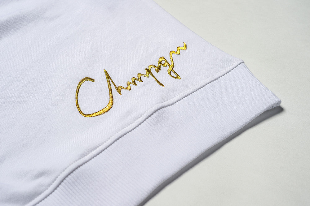SWEATER -  GOLD CHMPGN - WHITE