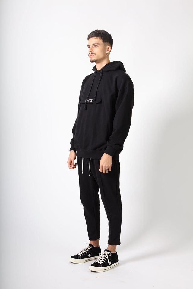 KANGAROO POCKET - BLACK
