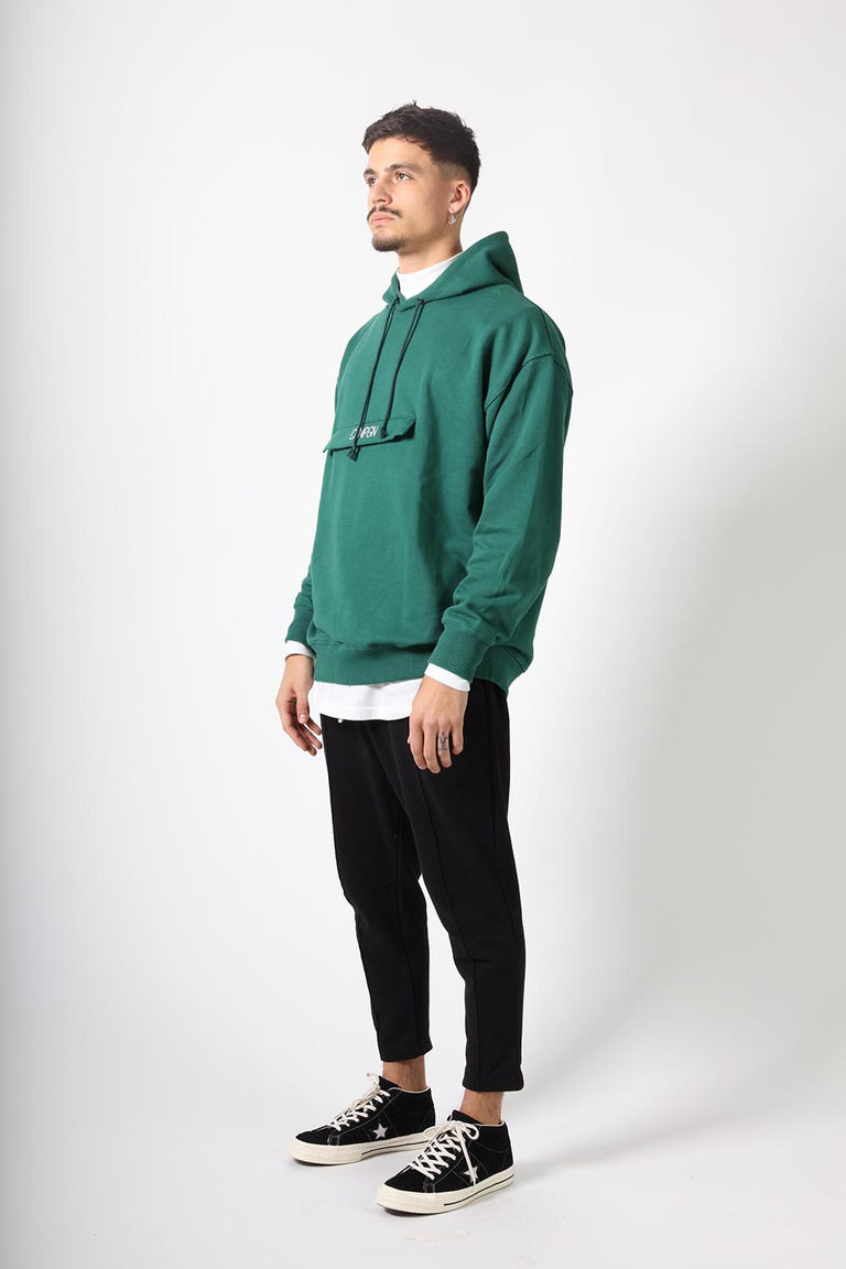 KANGAROO POCKET - GREEN ALPINE