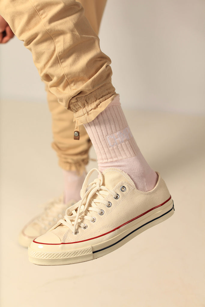 SOCKS - CHMPGN - BLUSH PINK