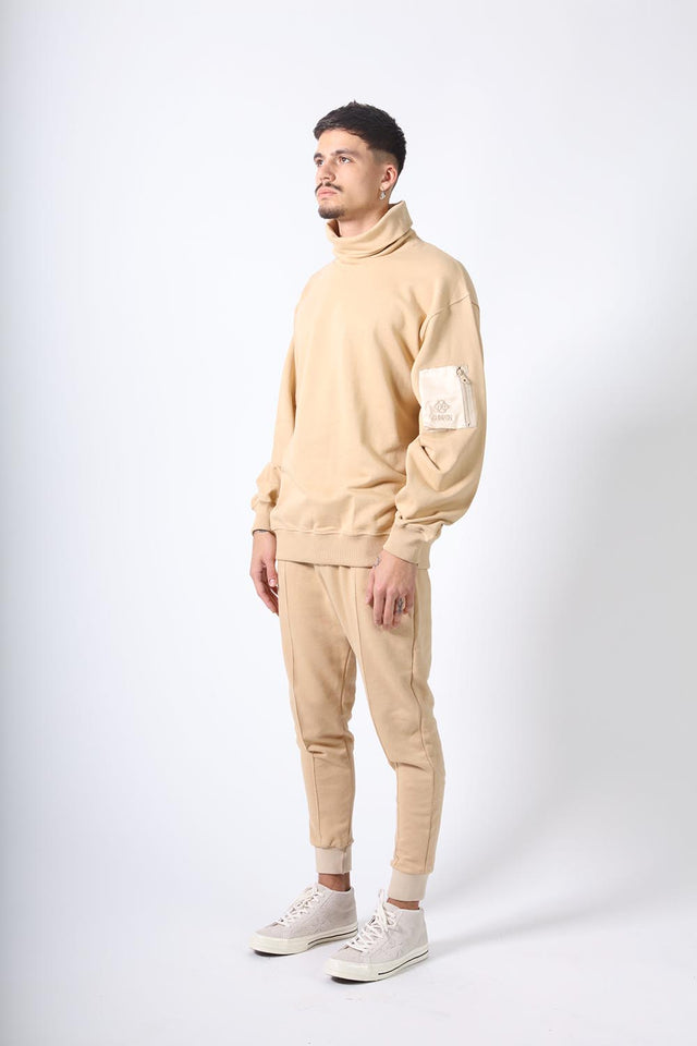 OVERSIZED TURTLENECK - BEIGE