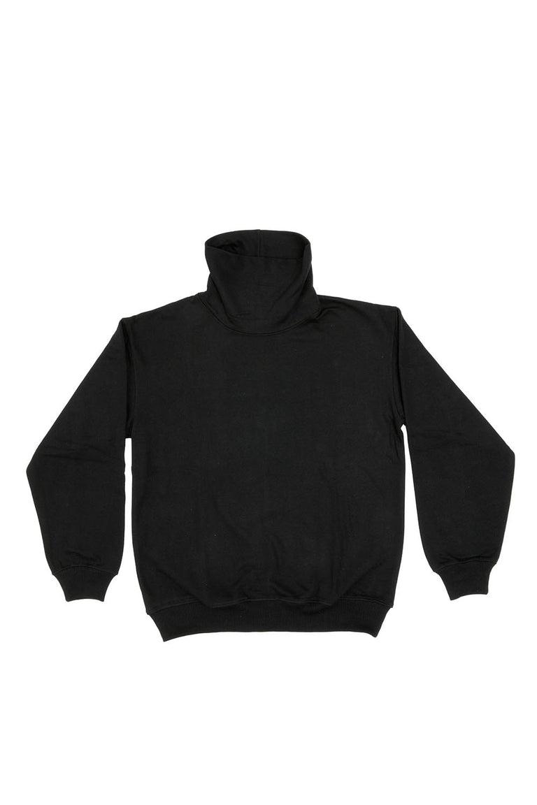OVERSIZED TURTLENECK - BLACK