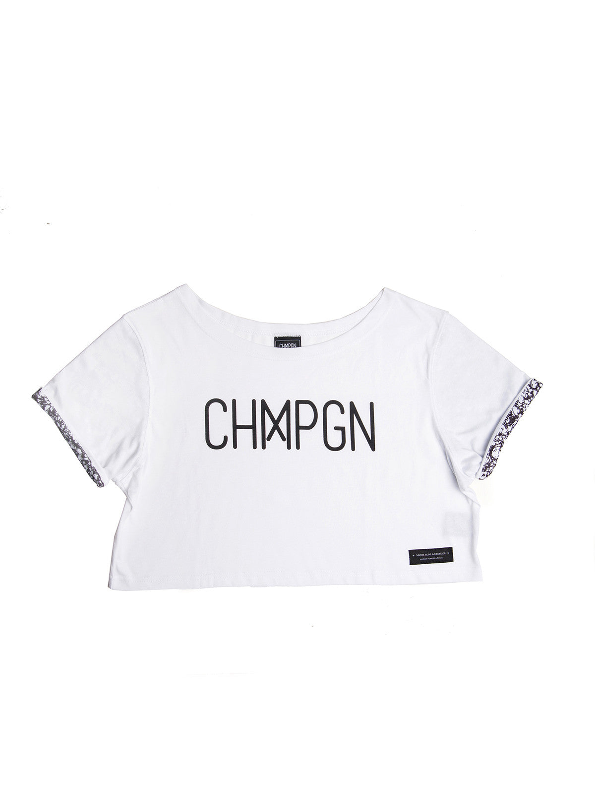 CHMPGN CLASSIQUE CROPPED - BLANC