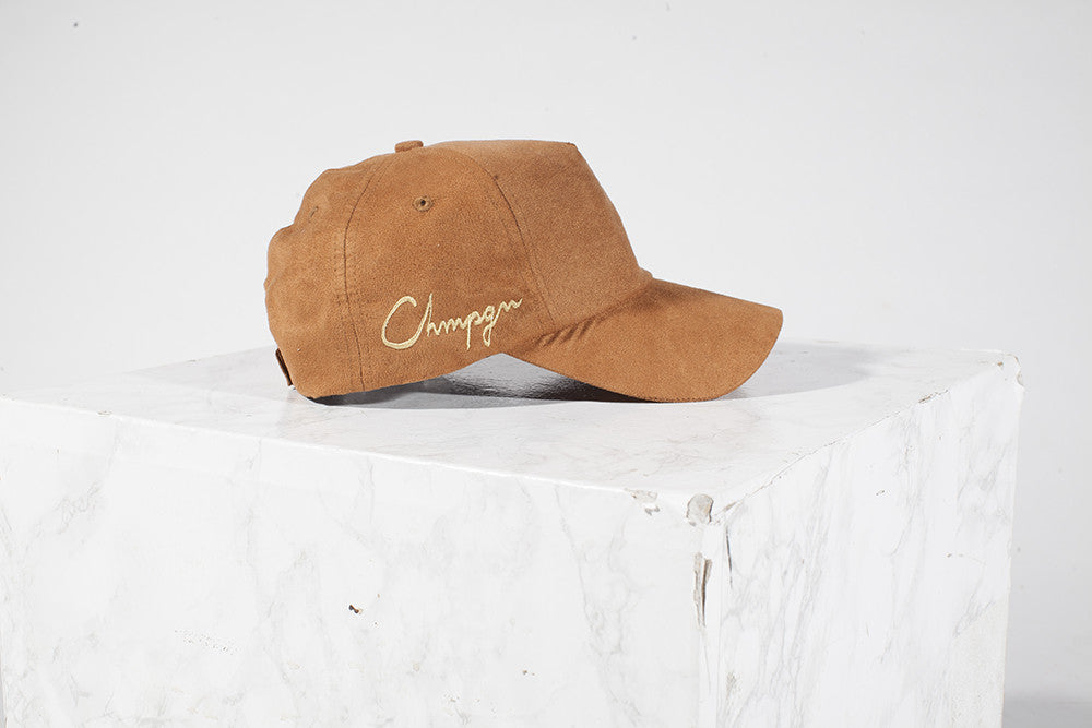 TRUCKER CAP - GOLD CHMPGN - CHOCOLATE