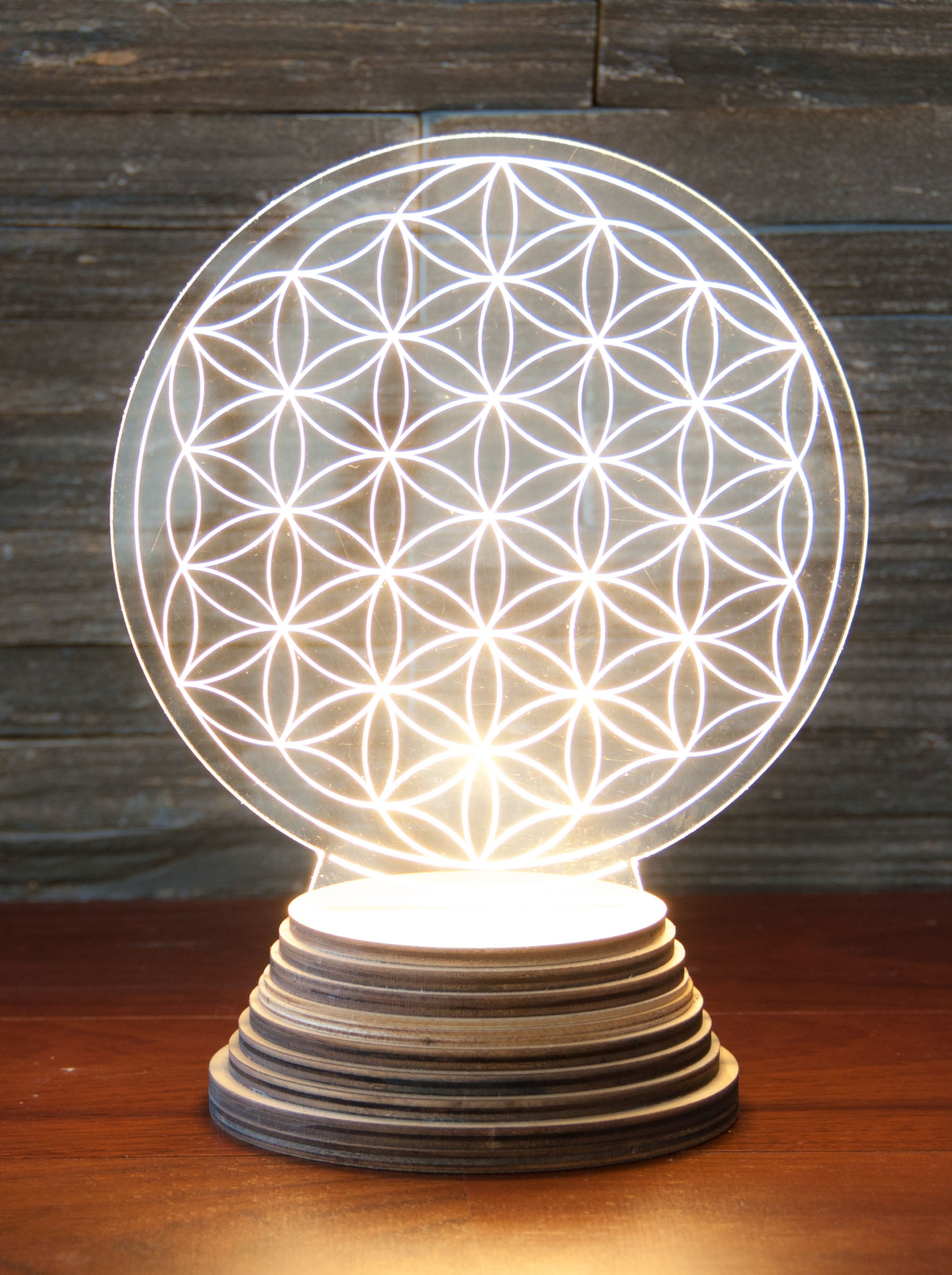 FLOWER OF LIFE LJÓS