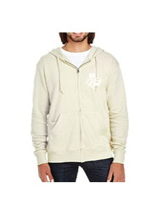 Be Kind French Terry Zip - Cream
