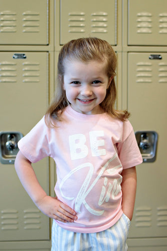 Be Kind Toddler Shirt - Pink