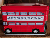 "Tee Dose in London Bus Optik,  ""Keep Calm and Carry on"" 40 English Breakfast  Teebeutel - British Moments"