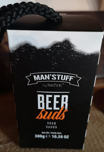 "Man's Stuff Seifenstück 300 gr. ""Ginger Beer"" - Fragrance - British Moments"