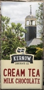 SALE : Kernow Cream Tea chocolate 100 gr. Tafel - British Moments