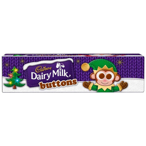 Cadbury Dairy Milk Buttons Tube 72 gr +++COMING SOON+++ - British Moments