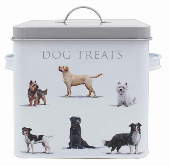 Hunde - Naschi- Aufbewahrungsdose /Dog treats Dose, Mac Neil , 20 cm - British Moments