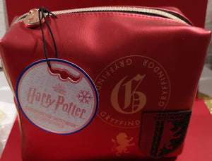 "Harry Potter Kosmetiktasche ""Gryffindor"", bordeauxrot - British Moments"