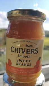 Chivers  Smooth Sweet  Orange Marmalade  340 gr Glas - British Moments