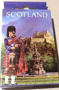 "Spielkarten ""Scotland""  Dudelsack Piper - British Moments"