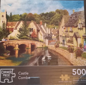 "Puzzle ""Castle Combe,"" 500 Teile - British Moments"