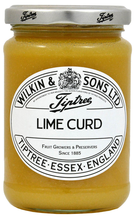 Tiptree Lime Curd, 312 gr. Glas - British Moments