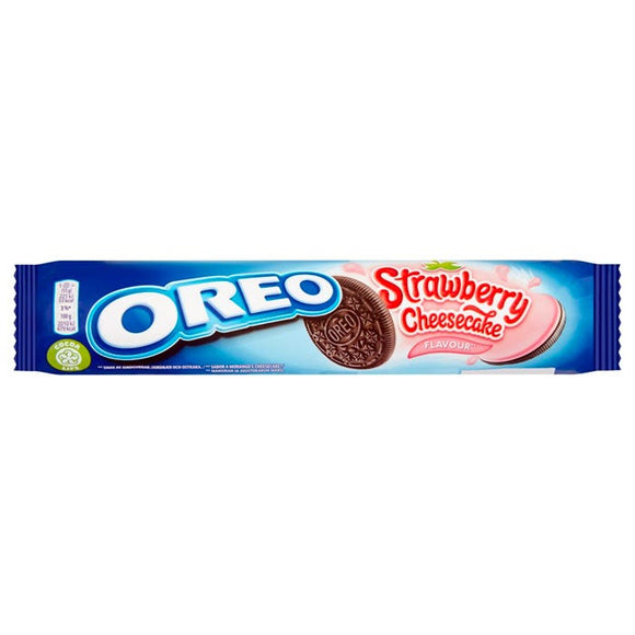 SALE !!!   MHD  Oreo Strawberry Cheesecake 154 gr - British Moments