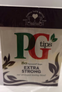 PG Tips, extra strong, 80 Teebeutel - British Moments