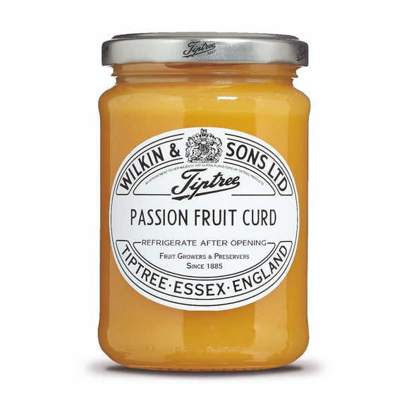 Tiptree Passion Fruit Curd, 312 gr. Glas - British Moments