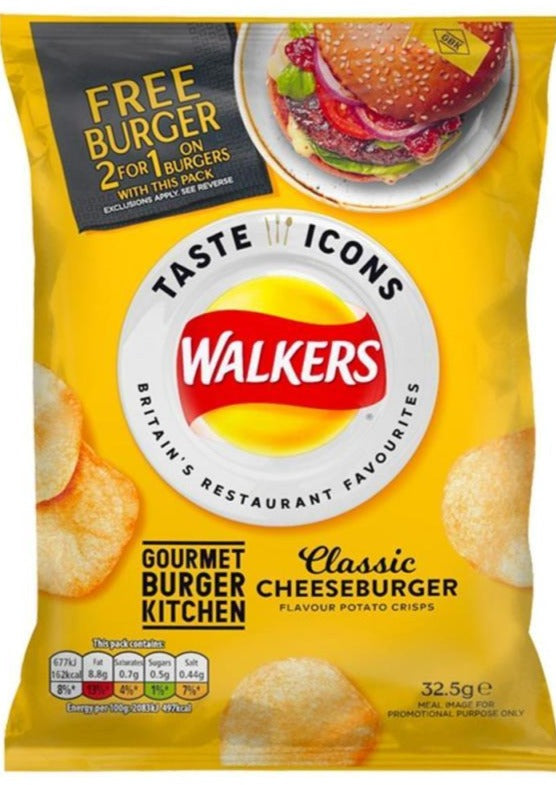 SALE !!!  MHD  Walkers Crisps Limited Edition