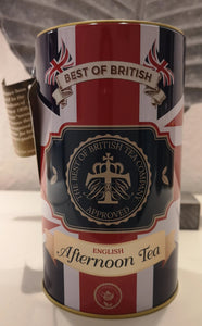 """Best of British"" Teedose English Afternoon, 50 Teebeutel in Schmuckdose - British Moments"