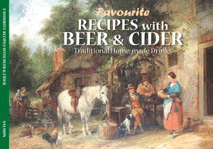 "RECIPE BOOKS  "" Favourite Recipes with Beer and Cider"" (englischsprachig , neu ) - British Moments"