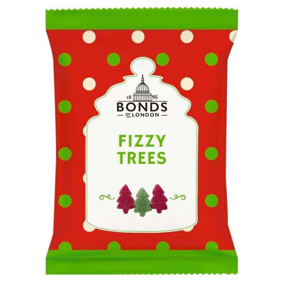 Bonds Fizzy Christmas Trees , 150 gr Tüte+++COMING SOON+++ - British Moments