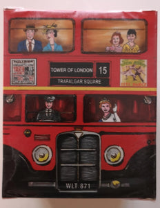 Tee Schachtel London Bus 20 gr - British Moments