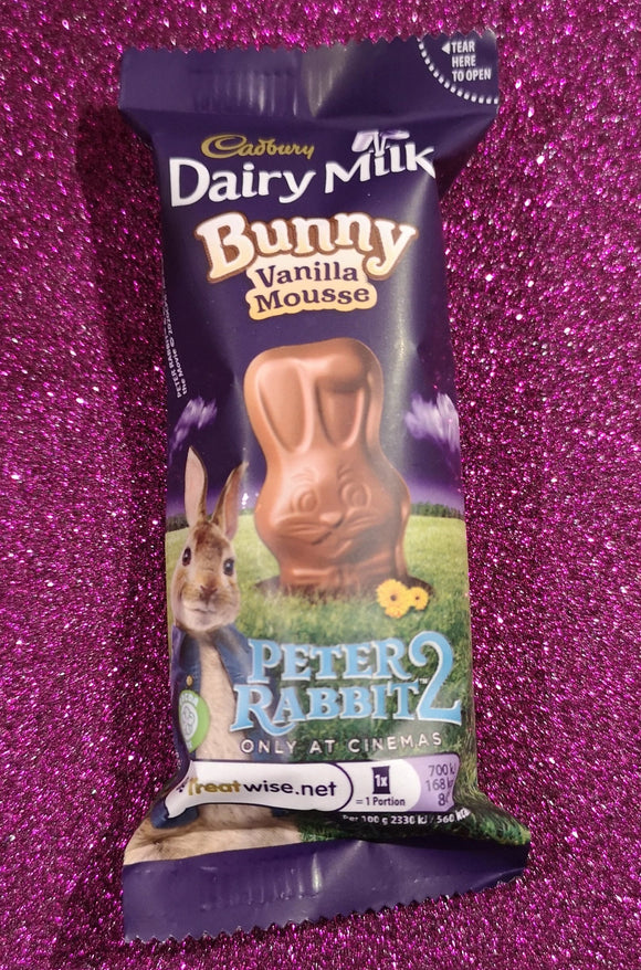 Cadbury Dairy Milk  Vanilla Mousse Bunny, 30 gr. - British Moments
