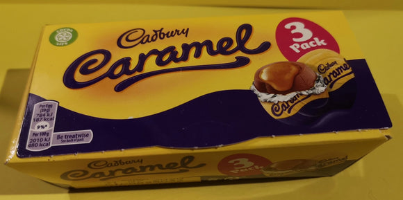 Cadbury Caramel eggs 3er Packung, 117 gr - British Moments