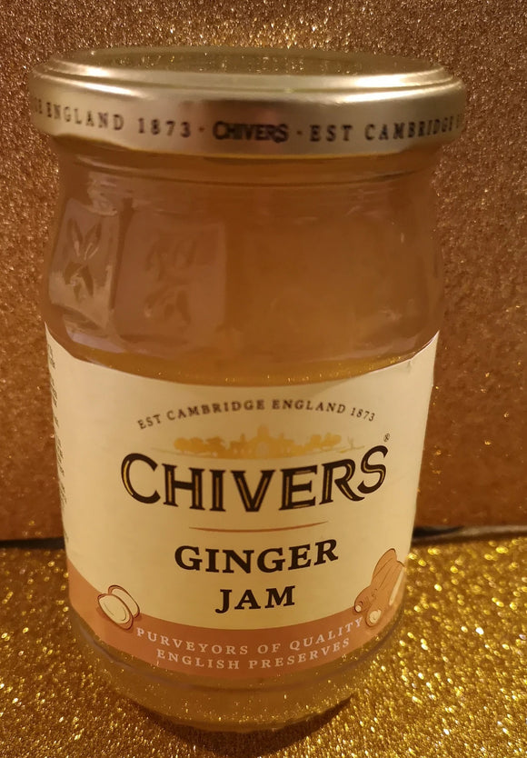 Chivers Ginger jam / Ingwer Konfitüre 340 gr Glas - British Moments