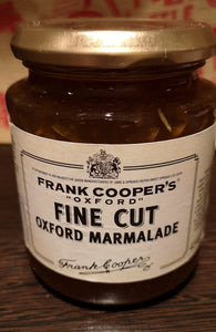 "Frank Cooper's ""Oxford"" Orangenmarmelade""Fine cut"", 454 gr Glas - British Moments"