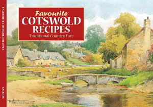 "RECIPE BOOKS "" Favourite Cotswold Recipes "" (englischsprachig, neu) - British Moments"