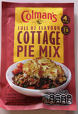 Colman's Fix für Cottage pie, Tüte 50 gr - British Moments