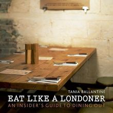 "Buch (englischsprachig, gebraucht) ""Eat Like a Londoner: An Insider's Guide to Dining Out "" - British Moments"