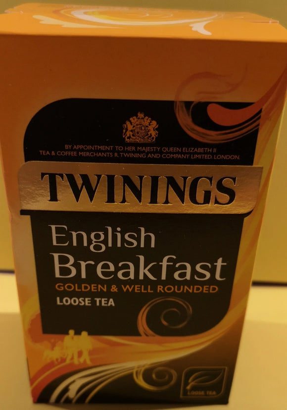 Twinings English Breakfast Tee, lose, 125 gr. - British Moments