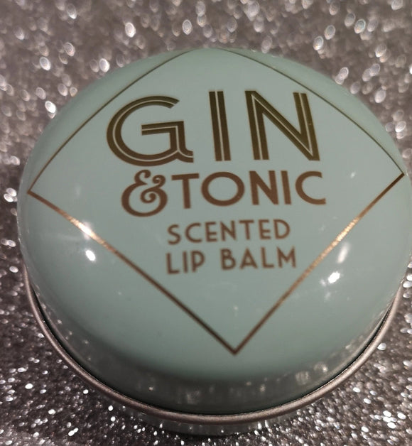 Gin & Tonic Lip Balm 10 ml Dose - British Moments