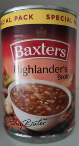 "Baxter's soup ""Highlanders broth "" 400 gr. Dose - British Moments"
