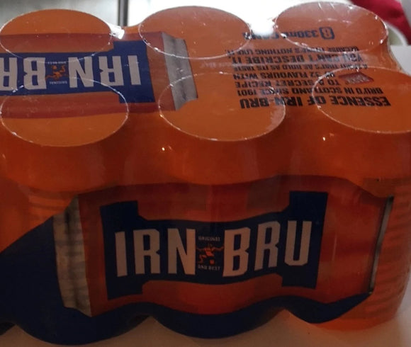 Irn Bru Limonade 6er Pack, 6 Dosen a 330 ml - British Moments