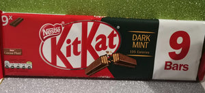 "Kitkat  "" Darkmint "" 9er Pack, 186 gr - British Moments"