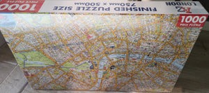 "Puzzle ""London Map"" , 1000 Teile - British Moments"