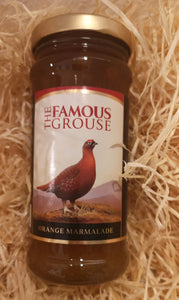Orange Marmalade  with The Famous Grouse Scotch Whisky, 330 gr Glas - British Moments