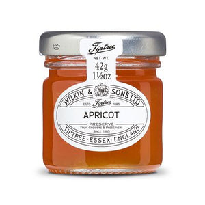 "Wilkin and sons Tiptree ""Apricot ""  42 gr. Glas - British Moments"