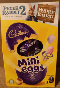 SALE !!! END OF SEASON  Cadbury egg ,  gefüllt mit mini eggs, 130gr - British Moments