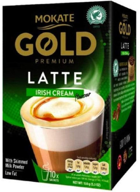 Mokate Latte   Typ Irish cream,  10 Tassenportionen - British Moments