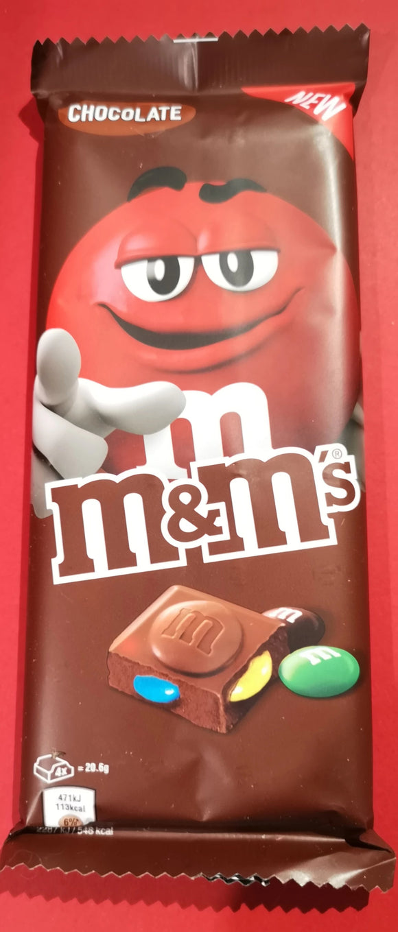 M&M's Schokolade  165gr Tafel - British Moments