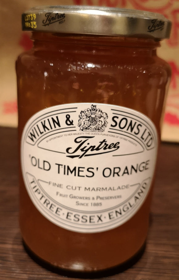 Old times orange Marmelade, Tiptree, Wilkin and Sons, 454 gr Glas - British Moments
