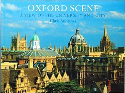 Buch ( englischsprachig, gebraucht) Oxford Scene . A view of the university and city - British Moments