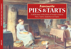 "RECIPE BOOKS "" Favourite Pies and Tarts Recipes ""  (englischsprachig, neu) - British Moments"
